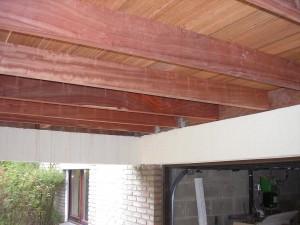 Structure terrasse en Jatoba après remplacement
