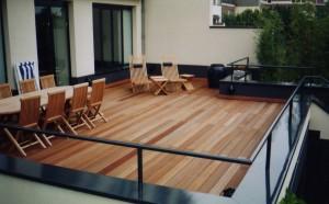 Terrasse Extérieure en bois d'Ipé