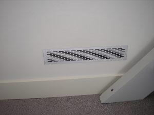 Detail grille ventillation